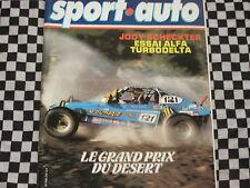 revue SPORT AUTO 1979 ALPINE BERLINETTE / ALFETTA TURBODELTA / TOUR AUTO  n° 214