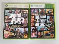 Grand Theft Auto 5 Five V + GTA Episodes From Liberty City -- Xbox 360 --