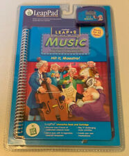 """New LeapPad: Leap 2 Music - """"Hit it, Maestro!"""" Interactive Book and Cartridge"""