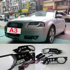 Daytime Running Lights Integrated in Insert Daylight Day For Audi A3 8P 8PA