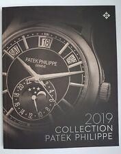 2019 Patek Philippe Watch Catalogue  Brochure  Booklet .  New