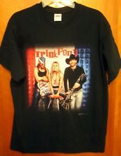 TRICK PONY lrg tee 2002 country music T shirt On A Mission tour Heidi Newfield