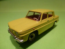 DINKY TOYS FRANCE 517 RENAULT R8 - YELLOW - 1:43 - PERFECT RESTAURATION - CODE 3