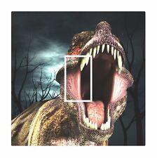 Novelty Roaring Trex T Rex Dinosaur Light Switch Vinyl Sticker Cover Skin Decal