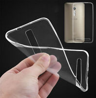 Ultra Thin Clear Silicone Shell TPU Phone Case Cover For ASUS zenfone 2 3 4 5