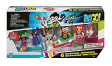 Teen Titans Go! Teen Titans 2-Inch Mini Figure DC 6-Pack
