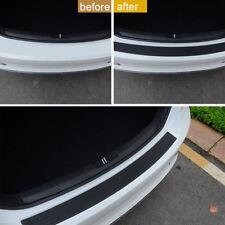 Car Trunk SUV Sill Plate Rear Bumper Guard Protector Trim Cover Rubber Pad Kit