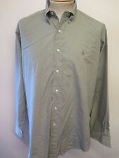 Ralph Lauren POLO men's Green Long Sleeved Casual Shirt L 42-46 Euro 52-56