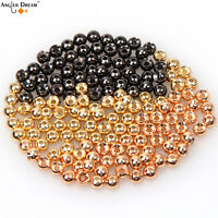 Tungsten Nickle Fly Tying Beads Fly Fishing Nymph Head Ball Beads 50pcs / lot
