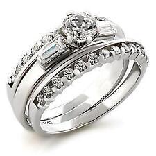 Diamond White Gold Engagement & Wedding Ring Sets