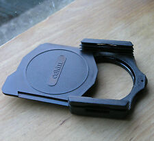 genuine   Cokin A filter holder ,cap & 55mm adapter ring used