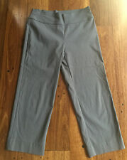 FLOWER grey stretchy 3/4 pants - as new - size 10