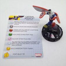Heroclix Nick Fury, Agent of SHIELD set Captain America (Falcon) #049 Super Rare