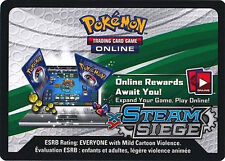 Pokemon TCG XY STEAM SEIGE: 36X VIRTUAL CODE CARDS FAST DELIVERY