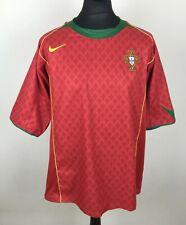 Portugal 2004/2005 NIKE Home Football Shirt Men's Size XL Soccer Jersey Camiseta