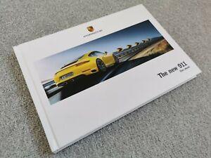 Porsche 911 UK Market Brochure 2015-16 Carrera/S/4/4S Coupe Cabriolet Targa 4/4S