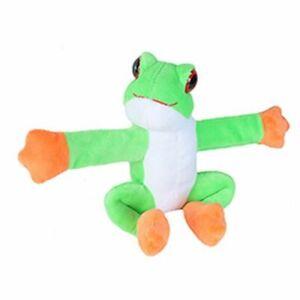 "Huggers Green Frog soft plush toy 8""/20cm by Wild Republic"