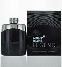 Legend By Mont Blanc Eau De Toilette 3.3 OZ / 100 ML For Men NEW