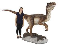 Velociraptor Statue Life Size Raptor Museum Quality 11Ft Jurassic Raptor Dino