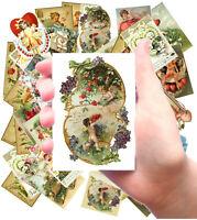 "6 pics 2.5/""x3.5/"" each By the Seashore FLONZ 441-0184 Vintage Stickers"