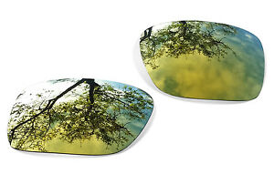 Fit&See Polarized Gold 24k Replacement Lenses for Oakley Holbrook