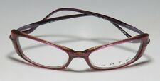NWT ORG $150 KATA KD6 VIOLET / GRAPE / MULTICOLOR UNIQUE DESIGN EYEGLASS FRAME