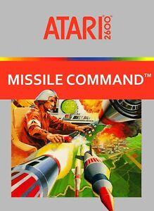 Atari 2600 Video Game Missile Command