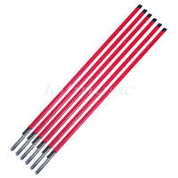 6 Pcs Red Double Way Course Electric Guitar Truss Rod Rods Stick 440mm*9mm Parts