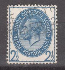 Uk-Great Britain-1929- Edward Vii- 2 1/2 Sh.- Blue-Y&T nr.182-used stamp