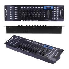 Lixada 192 Kanäle DMX512 Controller Konsole Bühnenlicht Operator Equipment C1Z7