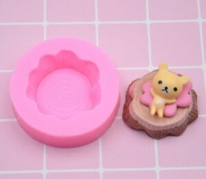 Silicone Tree Stump 5cm Sugarcraft Chocolate Jelly Resin Mould