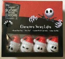 Disney Nightmare Before Christmas SANTA JACK SKELLINGTON String Lights BRAND NEW