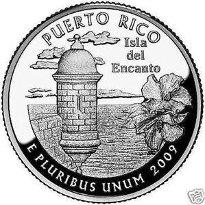 2009-P Puerto Rico Régiments Quarts Inclus