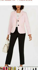 """LESUIT PANT SUIT/SIZE 16/INSEAM 32""""/NEW WITH TAG/PINK/BLACK/TANK TOP NOT INCLUDE"""