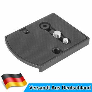 410PL Schnellwechselplatte Für DSLR Kamera mit Manfrotto Stativ Videokopf MENGS