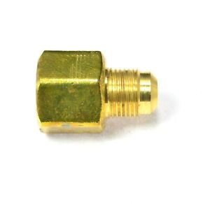 Female 5/8 Flare to Male 1/2 Flare Sae 45 Propane Natural Gas Reducer Adapter Rv