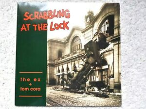 THE EX + TOM CORA - THE SCRABBLING (1991) 39/EX 051 - VINYL (TESTED EX+) POSTER
