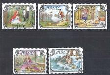 JERSEY, 2005  FAIRY TALES, SG 1195-1199,  FINE USED. CAT £5.25