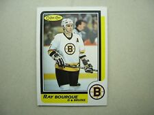 1986/87 O-PEE-CHEE NHL HOCKEY CARD #1 RAY BOURQUE EX/NM NM SHARP!! 86/87 OPC