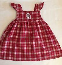 Sara Lynn Togs  University of Oklahoma  Dress Jumper Sooners  Fan SZ 18 Mo.EUC