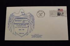 DRW NAVAL COVER #58 COMMISSION USS HYMAN G RICKOVER (SSN-709) 1984 MACHINE CANC