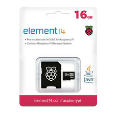 TSRASPI10-16G 16GB MicroSD card preloaded with NOOBS for the Raspberry Pi