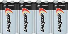 4 Energizer Max 9v 9 Volt Alkaline Batteries 522 1604