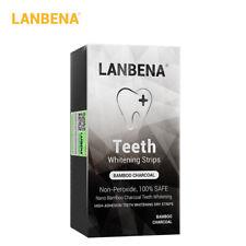 LANBENA T eeth Whitestrips Bamboo Charcoal Nanoparticles Non-Stimulating K4T7