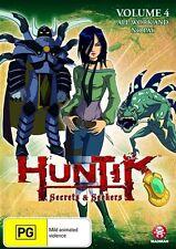 Huntik, Secrets & Seekers - All Work and No Pay : Vol 4 (DVD, 2010) New Region 4