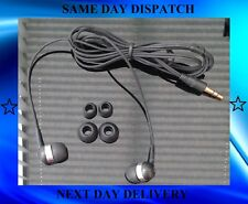 Heavy Bass Black In-Ear Headphones with FREE IN-EAR S-M-L phones mp3 Players