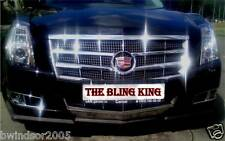 2008-2011 Cadillac CTS chrome grille insert grill overlay trim
