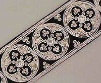 Our Finest Hand-Beaded  Wide Trim Traditional Style Vestment