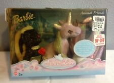 BARBIE SWAN LAKE STUFFED CHARACTERS UNICORN SWAN SKUNK NEW FACTORY SEALED