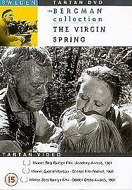THE VIRGIN SPRING (BERGMAN) GENUINE R0 DVD MAX VON SYDOW BIRGITTA PETTERSSON VGC